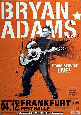 Amazon.com: Bryan Adams - Room Service 2004 - Poster, Concertposter ...