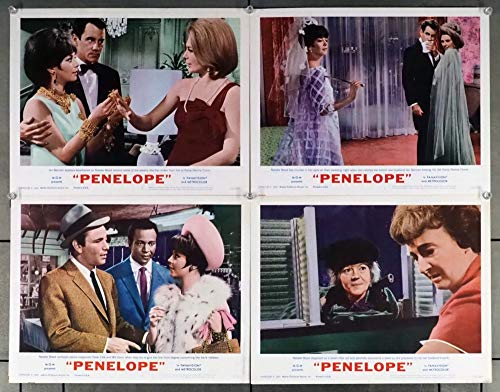 - Penelope (1966) Original U.S. Scene Lobby Card Movie Posters Four 11x14 Cards NATALIE WOOD IAN BANNEN NORMA CRANE PETER FALK Film directed by ARTHUR HILLER