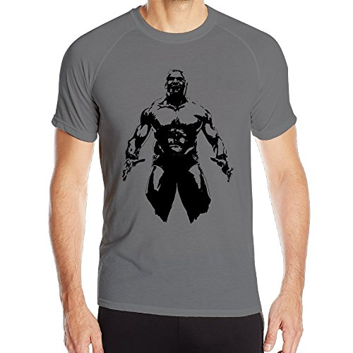 Running Cool Polyester Male Brock Lesnar Wwe XX-Large T Shirts (Wwe Diva Outfits)