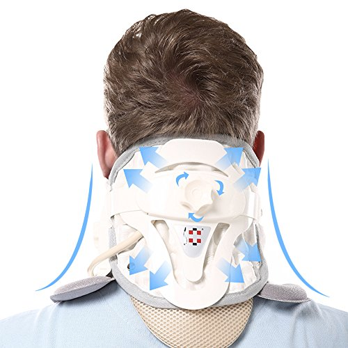 Patented FDA Guaranteed New Medical Neck Cervical Traction Device Portable Home Use, Therapy Unit Provide Relief for Neck and Upper Back Pain, Dizziness and Limb Numbness. by ALPHAY (Image #5)