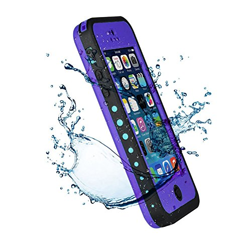 iPhone 5C Case,Mangix New Waterproof Shockproof Dirtproof Snowproof Protection Case Cover Only for Apple iPhone 5C-Purple