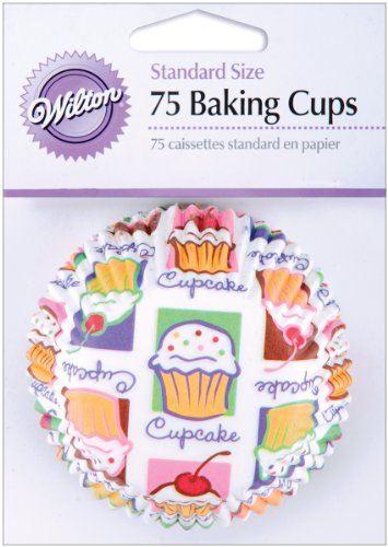 Wilton Cupcake Heaven Standard Baking Cups - Pack of 75