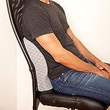Product of iDEAL Comfort Memory Foam Travel Pillow - Seat cushion - Chair Pads [Bulk Savings]