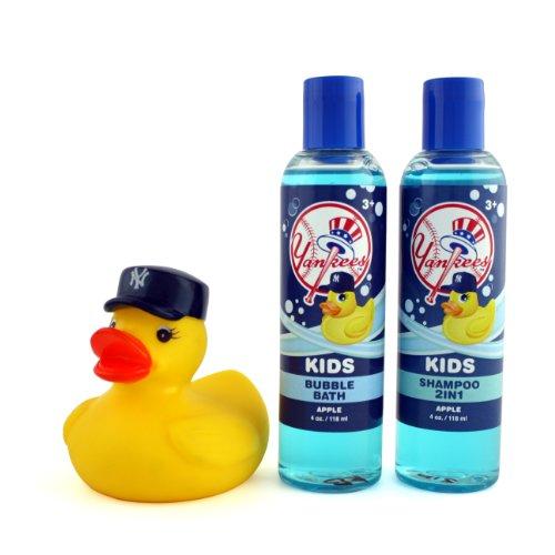 UPC 859162232022, New York Yankees Game Ready Boys Bath Set, 8 Fluid Ounce