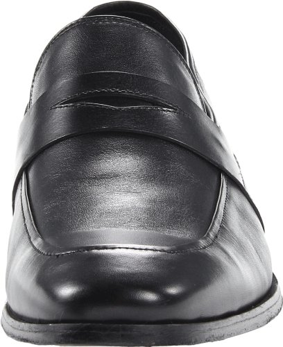 Shoe Men's Florsheim Ankle Penny Oxford Leather High Black Jet 0Bdwqd4