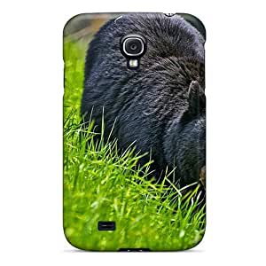 , Fashionable For Case Samsung Note 4 Cover - Black Bear