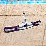 Aquatix Pro Pool Brush with Vacuum Head Strong