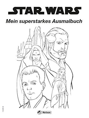 Star Wars: Star Wars - Mein superstarkes Malbuch: Amazon.de: Bücher
