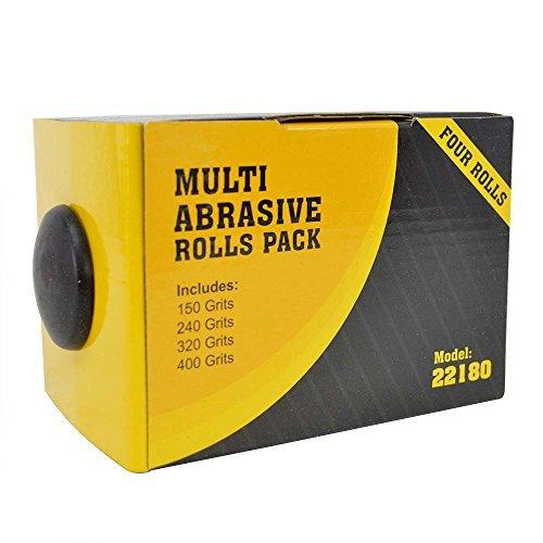 Big Horn 22180 Abrasive 4 Roll MultiPack Big Horn Abrasive - 4 Roll MultiPack