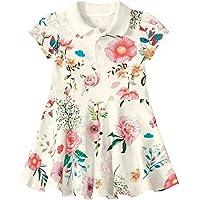Vestido Lilica Ripilica Floral Bebê Menina Branco