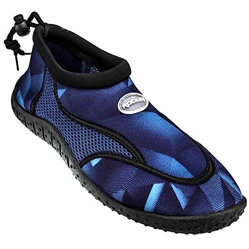 Rockin Footwear Herren Rockin Aqua Earth Wasserschuh Blau