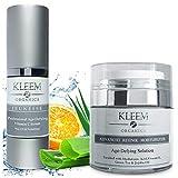 Vitamin C Serum & Retinol Cream for Face Bundle
