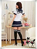 New-Cute-Sexy-Japanese-School-Girl-Sailor-Uniform-Cosplay-Costume-COS56
