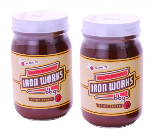 Iron Works BBQ Spicy BBQ Sauce Gift (Iron Works Bbq)
