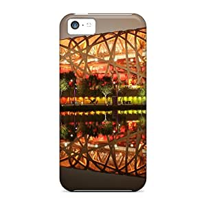 Hot Tpye Beijing National Stadium Case Cover For Iphone 5c