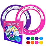 Best Present For 5 Year Old Girls - Best Kids Frisbee Rings [2 PACK] Super Cool Review