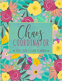 Lesson Planner: Weekly and Monthly Calendar Agenda with