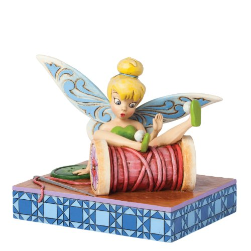 Enesco 4038498 Disney Traditions by Jim Shore Tinker Bell Tumbles Figurine, 1.77