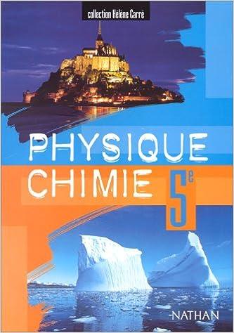 Livres gratuits Physique - chimie, 5e, élève pdf, epub