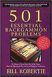 501 Essential Backgammon Problems, Bill Robertie, 1580421385