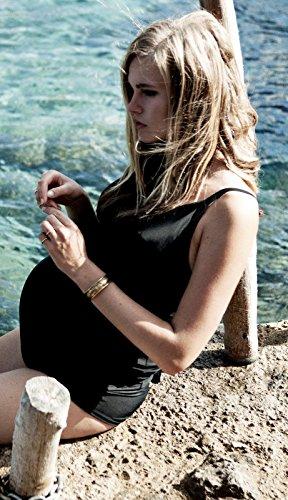 Noppies Bañador Saint Tropez 63921Traje De Baño De Maternidad Mujer Traje de baño negro