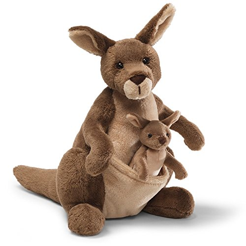 GUND Jirra Kangaroo Stuffed Animal Plush, 10""