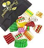 SweetGourmet Christmas Mini Ribbon | Old Fashioned Hard Candy | 1 pound