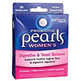 Nature's Way Probiotic Pearls Women's, Vaginal and Digestive Health, 30 Softgels. Pack of 2