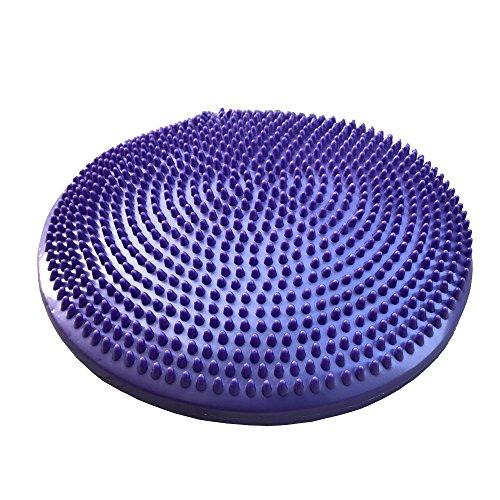 Busy Mom Yoga Coussin d'équilibre épaississant Explosion Proof disque Coussin d'air Diamètre 13en (33cm) Y Compris gratuit Pompe