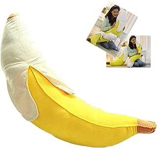 STONCEL Creative Soft Peeled Banana Plush Stuffed Pillow Cushion Doll Toy Gift (70cm)