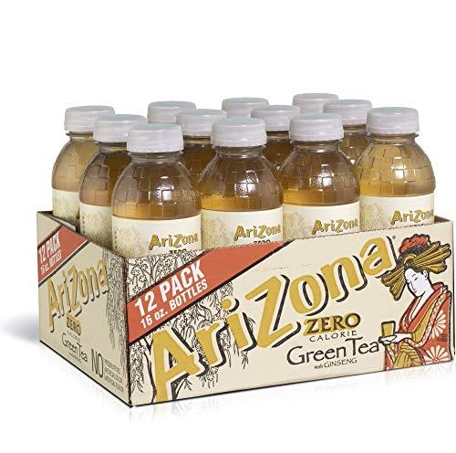 Arizona, 12-Count, 16-Ounce (Zero Green Tea) (Arizona Diet Iced Tea)