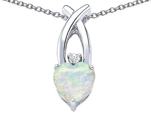 Star K Sterling Silver 8mm Heart Shape Cross Heart Pendant