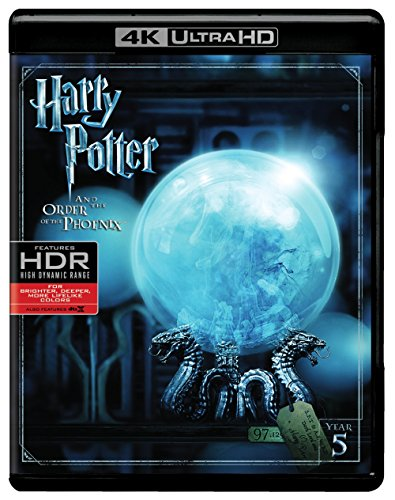 Harry Potter and the Order of the Phoenix (4K Ultra HD + Blu-ray) (Harry Potter Collection 8pk 4k Ultra Hd Digital)