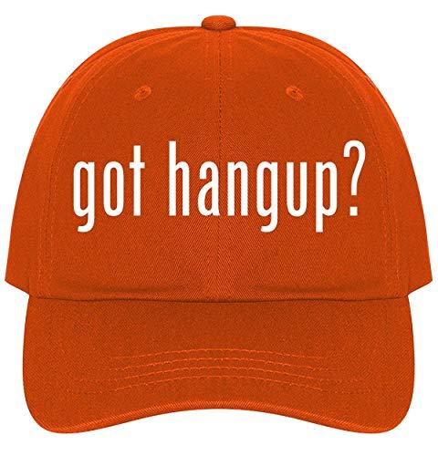 - The Town Butler got Hangup? - A Nice Comfortable Adjustable Dad Hat Cap, Orange