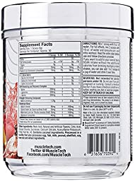 MuscleTech Amino Build Next Gen, Clinically Dosed, Performance-Enhancing BCAA Formula with Betaine, Fruit Punch, 9.83oz (279g)