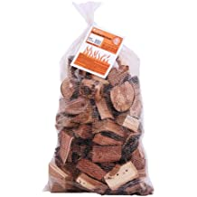 Camerons Smoking Wood Chunks (Apple)- Kiln Dried BBQ Large Cut Chips- 100% All Natural Barbecue Smoker Chunks- 10lb Bag