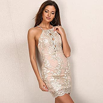 20072bd67 Carolina Dress Vestidos Satinados De Fiesta Sexys Cortos Ropa De Moda Para  Mujer y Noche Elegante