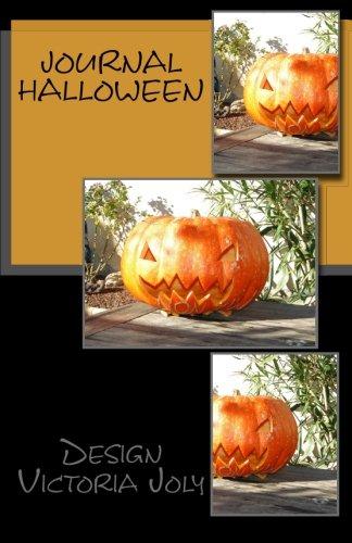 Journal Halloween: Design Original 3 (French -