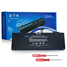 Dtk New Laptop Battery for Apple A1321 A1286 (Only for 2009 2010 Version) Unibody Macbook Pro 15'', Fits Mb985 Mb986j/a Mc118 - 18 Months Warranty [Li-polymer 6-cell 6800mah/74wh]