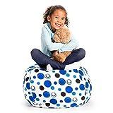 Creative QT Stuffed Animal Storage Bean Bag Chair -...