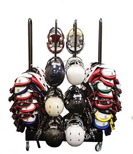 (TAG Rolling Shoulder Pad/Helmet Rack System)