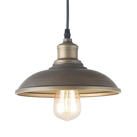 Giluta Adjustable Industrial Pendant Lighting of Rustic Vintage ...