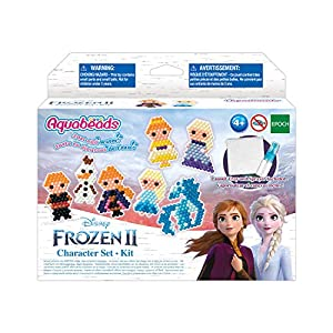 Aquabeads Disney Frozen 2 Character Set, Kids Crafts, Beads, Arts and Crafts, Complete Activity Kit, Multi