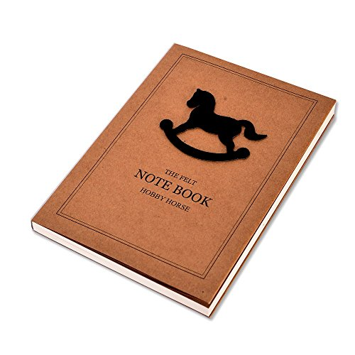 Enwraps EG Series – The Felt Hobby Horse Soft Bound Notebook 100 Pages