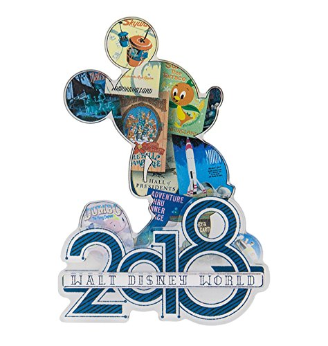 2018 Mickey Mouse Walt Disney World (Disney Magnets)