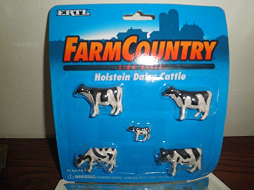 Farm Country 1/64 Scale Holstein Dairy Cattle