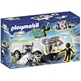PLAYMOBIL Super 4 Techno Chameleon with Gene Building Kit