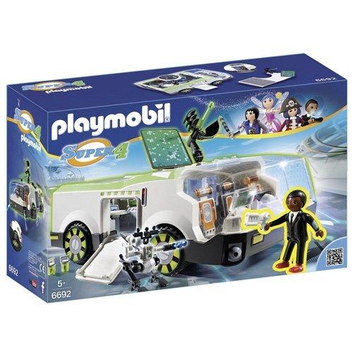 Playmobil - 6692 - Super4 - Techno Caméléon avec Gene Jeux de construction