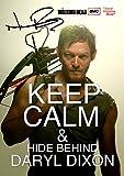 The Walking Dead Tv Print (11.7 X 8.3) Daryl Dixon Norman Reedus