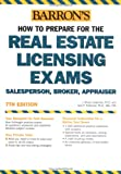 How to Prepare for the Real Estate Licensing Exams, J. Bruce Lindeman and Jack P. Friedman, 0764124021